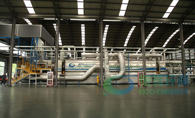 工业连续化环保型低温裂解油化成套生产技术装备