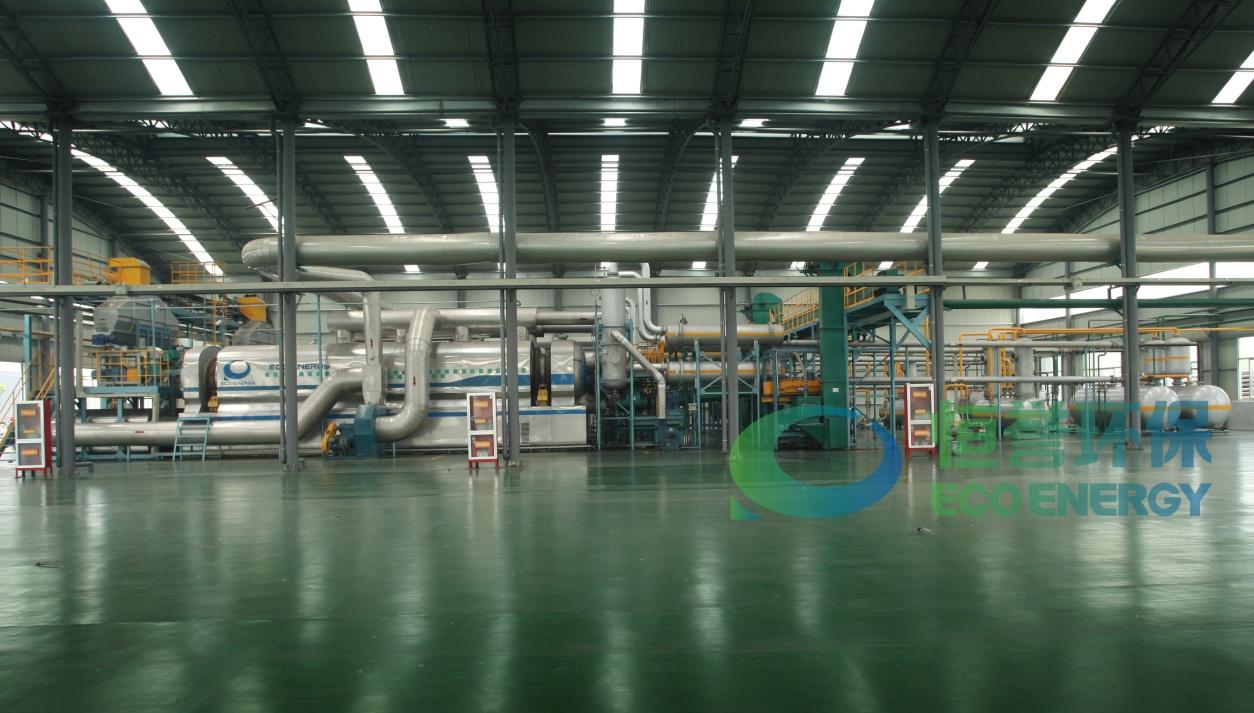 恒誉环保工业连续化环保型废轮胎裂解油化成套生产装备