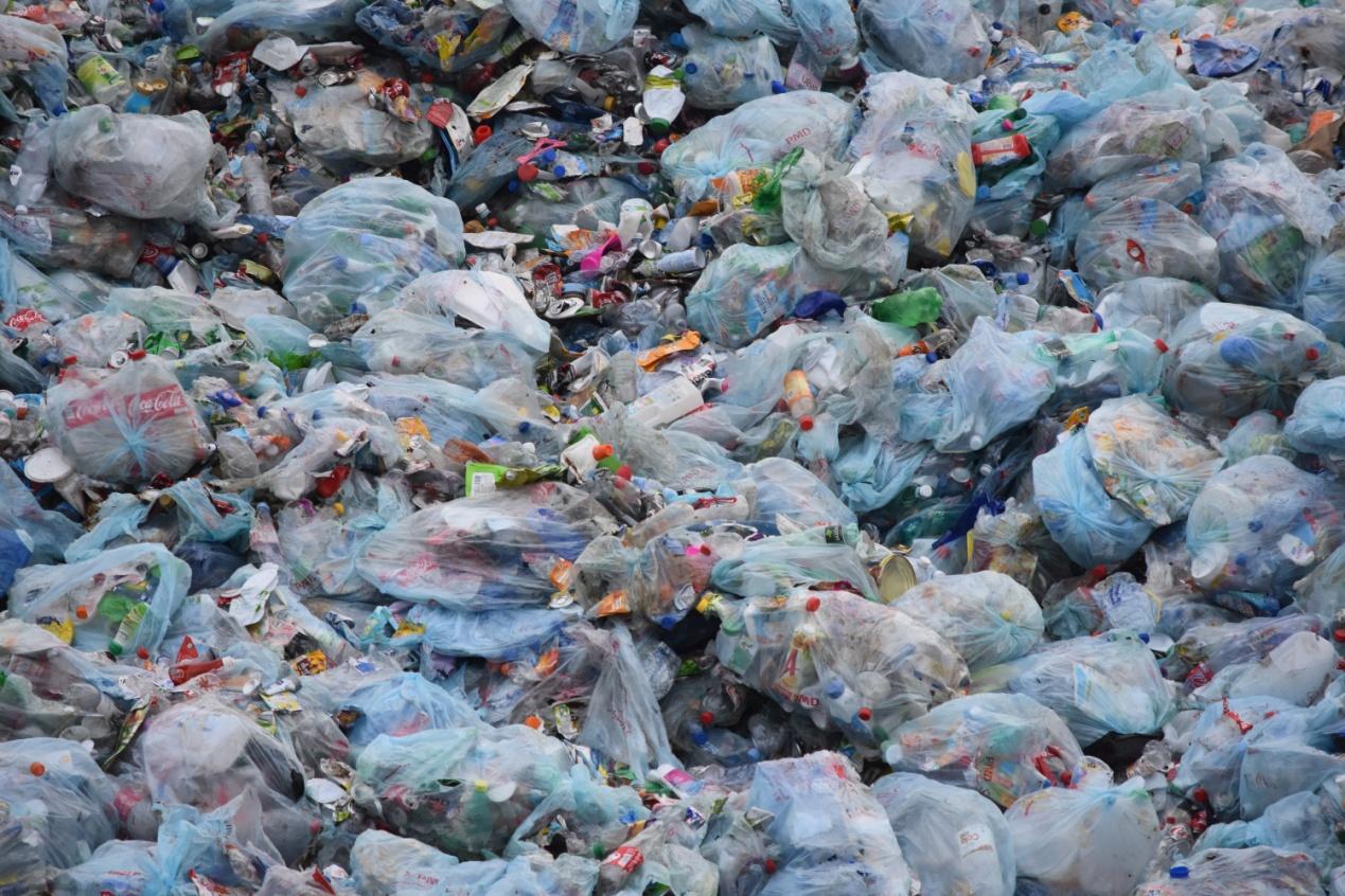废塑料、生活垃圾