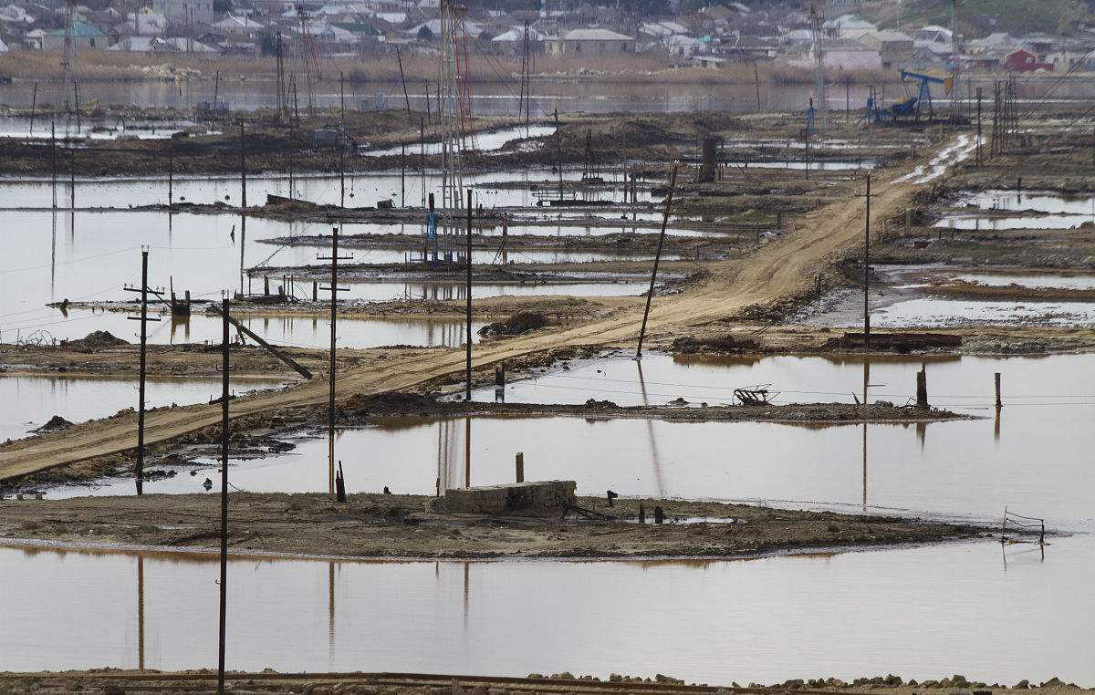 油田污染:含油污泥