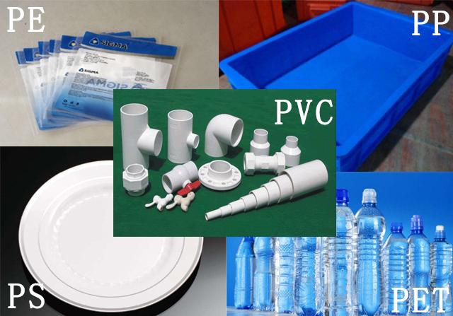 常见塑料制品材料分类