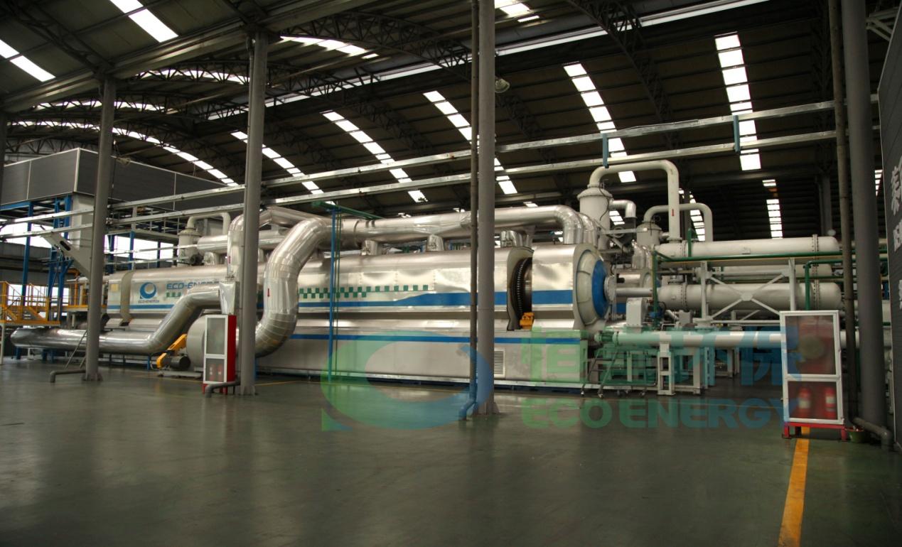 工业连续化废塑料低温裂解资源化利用成套技术及装备