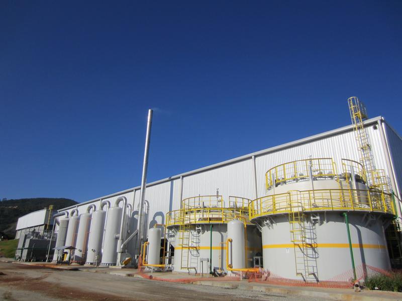采用恒誉环保设备的巴西工业连续化有机废弃物裂解资源化利用项目